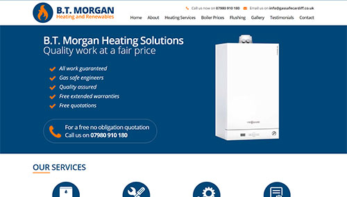 B.T. Morgan Heating Engineers
